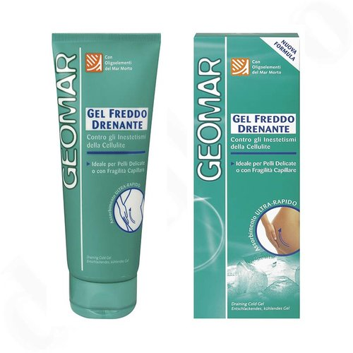 Κρέμα αδυνατίσματος gel κατά του τοπικού πάχους 200 ml Geomar Freddo Drenante