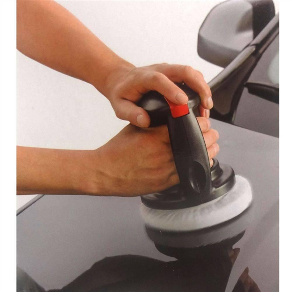 Τριβείο Γυαλίσματος Αυτοκινήτου Αλοιφαδόρος 12V basdeo car waxer and polisher