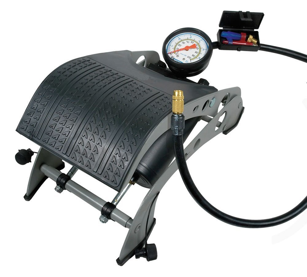 Τρόμπα αέρος αντλία πεντάλ αέρα 7 bar με μανόμετρο Michelin 9501
