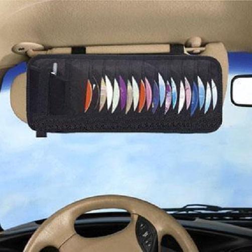 Θήκη αποθήκευσης 24 CD/DVD για το αυτοκίνητο ZIYOUI