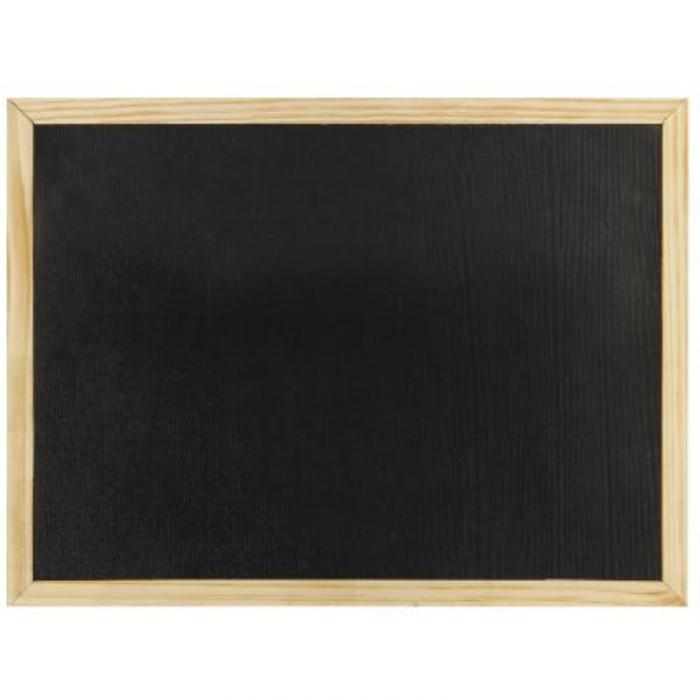 Μαύρος πίνακας  40x60cm Foska