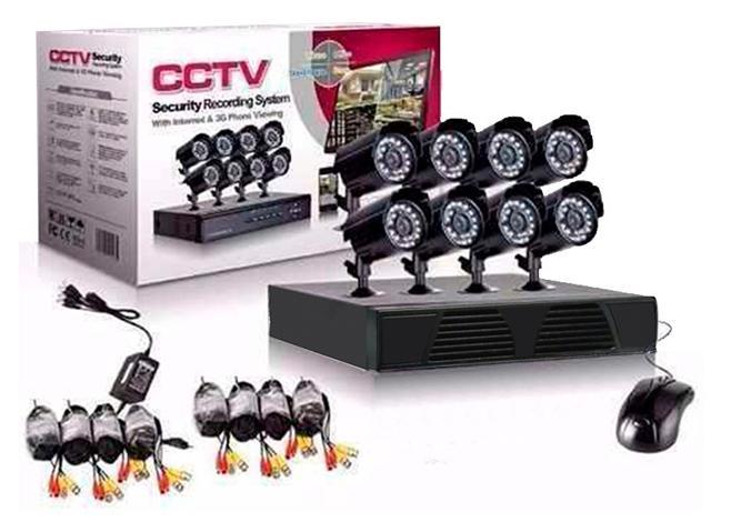 Σετ 8 Κάμερες καταγραφικό δικτύου CCTV Security Recording System ΟΕΜ RS485