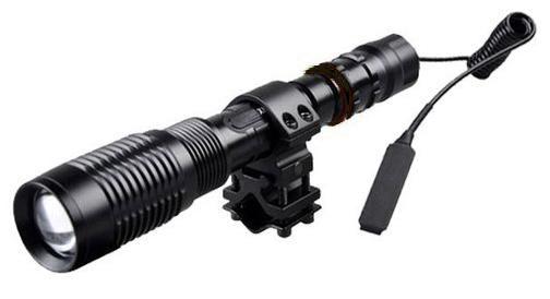 Επαναφορτιζόμενος φακός κυνηγίου LED 3800W POLICE FA QP53