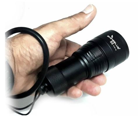 Καταδυτικός Φακός LED 1000Lm 100m  ShineBlue S2