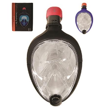 Ολοπρόσωπη Μάσκα θαλάσσης με Αναπνευστήρα & Βάση Κάμερας Sub Full Face Snorkel Mask 855