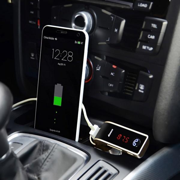 Αναμεταδότης Transmiter αυτοκινήτου με Bluetooth Carg7