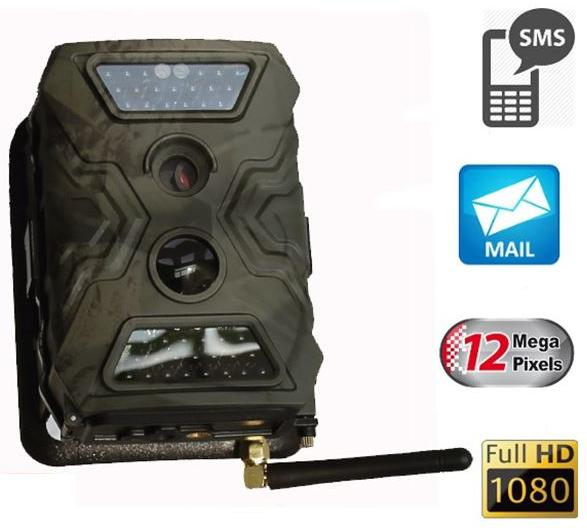 Aυτόνομη GPRS κάμερα εξωτερικού χώρου 12MP - ανίχνευση κίνησης και αποστολή φωτογραφιών μέσω MMS / Email - μεγάλη αυτονομία έως 100 μέρες