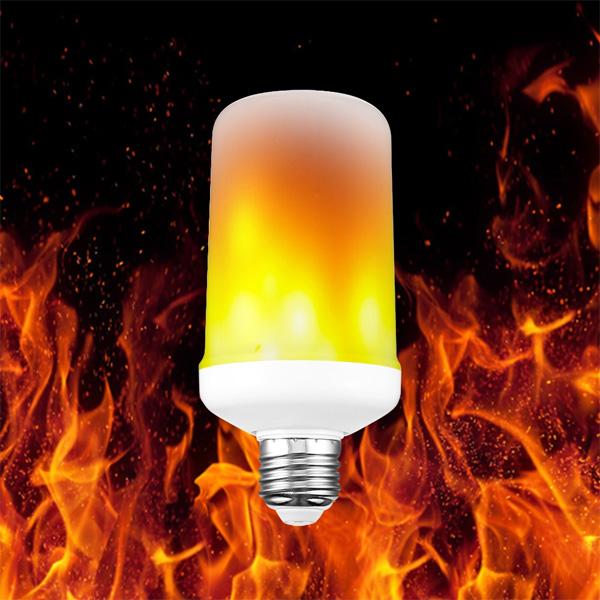 Διακοσμητική Λάμπα 9W E27 Με Εφέ Φλόγας