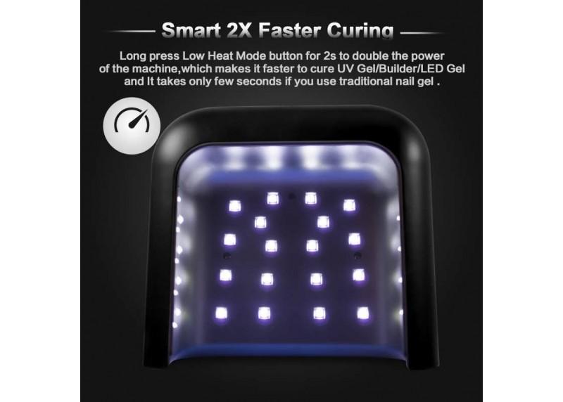 Επαγγελματικό Φουρνάκι Νυχιών UVLED 48W SUN3 Smart 2.0 UV Lamp