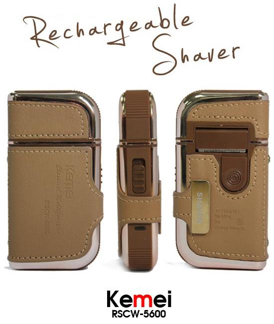 Επαναφορτιζόμενη Ξυριστική Μηχανή Kemei RSCW-5600