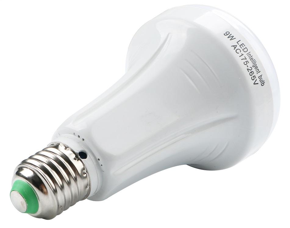Επαναφορτιζόμενη Λάμπα Ασφαλείας 9W LED E27 AC Enjoydea 175-265V 1aeacb6166e