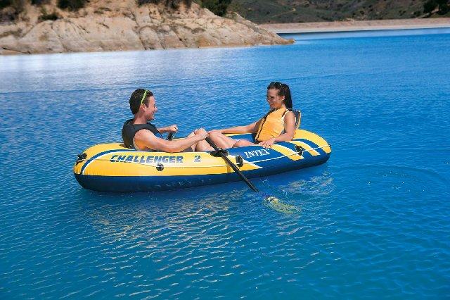Φουσκωτή βάρκα δύο ατόμων Challenger 2 INTEX 68367