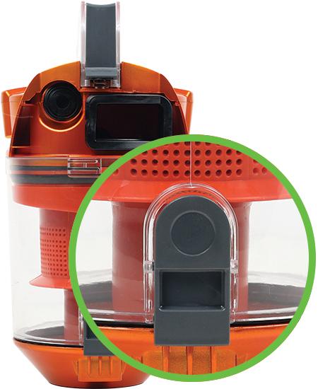 Ηλεκτρική σκούπα χωρίς σακούλα Royalty Line RL BSCM 1600W.65