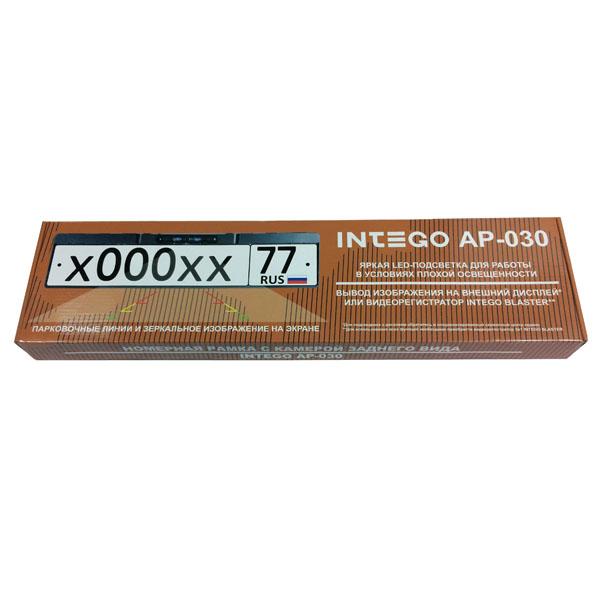 Κάμερα οπίσθιας προβολής και πλαίσιο πινακίδας INTEGO AP-030
