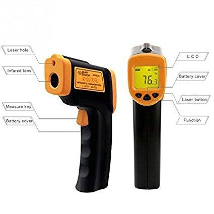 Θερμόμετρο υπερύθρων χειρός Smart Sensor AR360A+