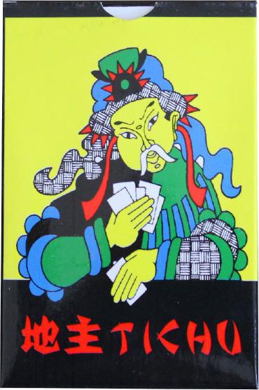 Τράπουλα Παιχνίδι με κάρτες Τίτσου Tichu cards