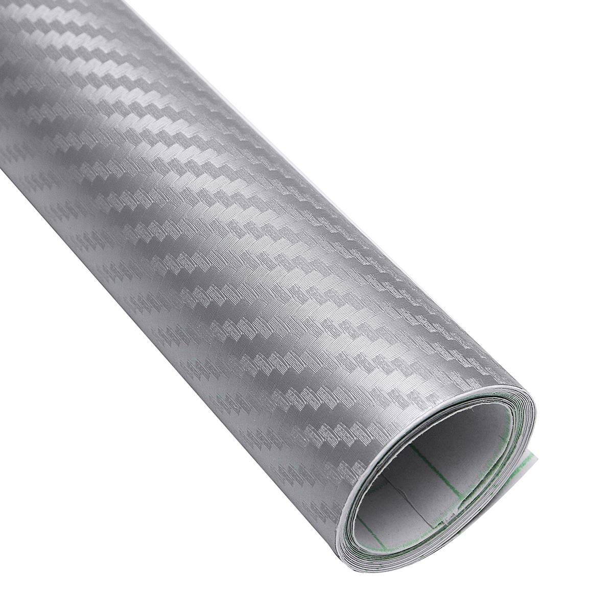 Ταινία προστατευτική Γκρι 152 x 300 cm 3D Carbon Fiber Film W-FA