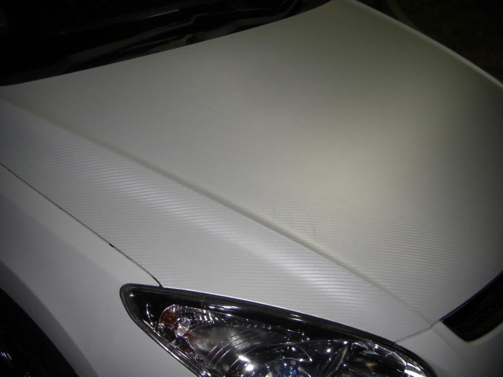 Ταινία προστατευτική Λευκή 152 x 300 cm 3D Carbon Fiber Film W-FA