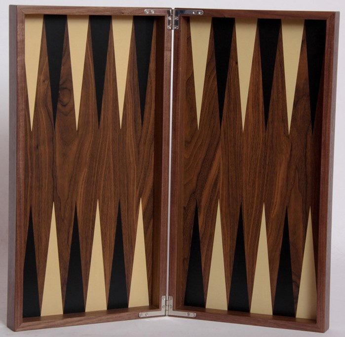 Τάβλι ξύλινο χειροποίητο Deluxe καπλαμάς 49 x 49cm