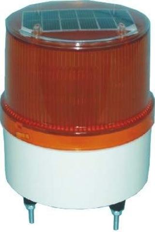 Ηλιακός Φωτοσημαντήρας 15 LED, Κίτρινος