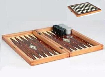 Τάβλι -  Σκάκι Τύπου Φορμάικα  19 × 38× 7 cm