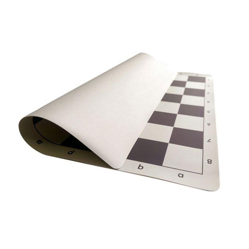 Αναδιπλούμενη Αδιάβροχη σκακιέρα PVC Tournament size 34 x 34 cm