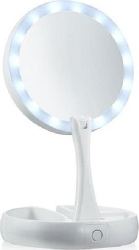 Διπλός Μεγεθυντικός Καθρέφτης με Φωτισμό LED MWS10656