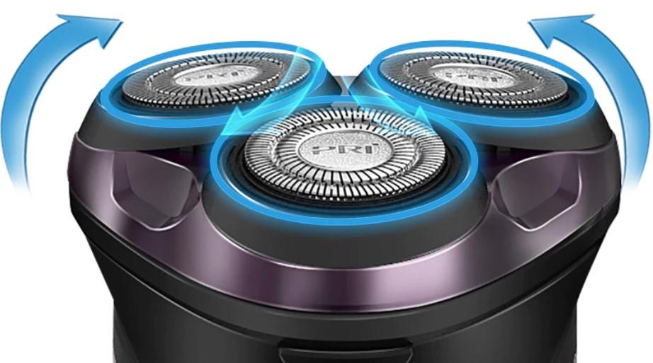 Επαναφορτιζόμενη Ηλεκτρική Ξυριστική Μηχανή Pritech RSM-1503