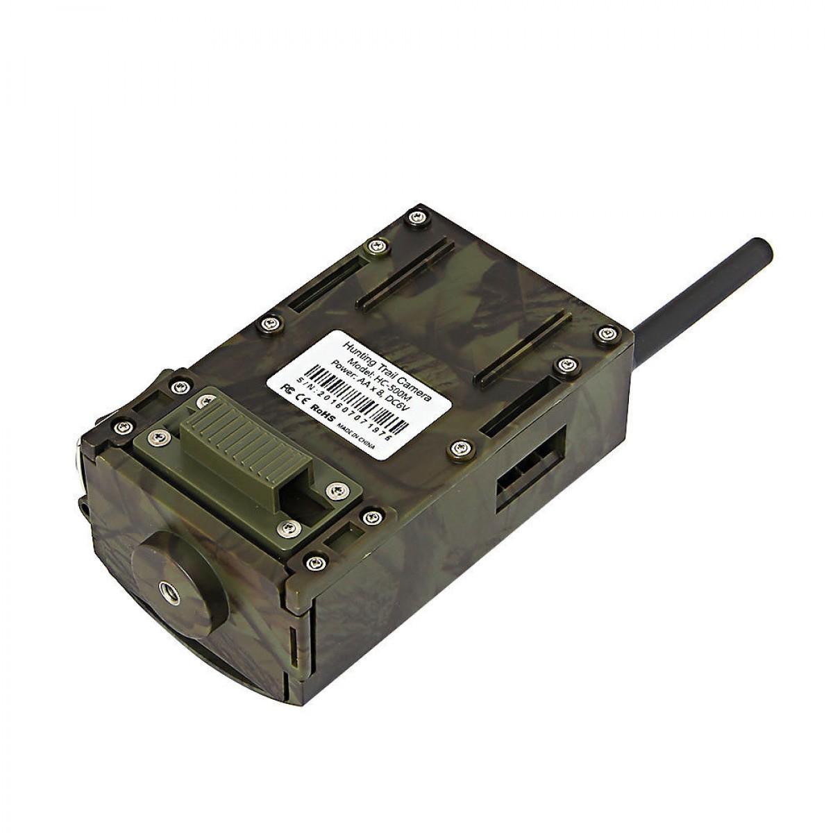 Κρυφή κάμερα στέλνει MMS και EMAIL αυτονομία έως 6 μήνες με νυχτερινή λήψη SD-32GB OEM HC-500M