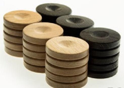Πούλια ξύλο μικρά καφέ PO2