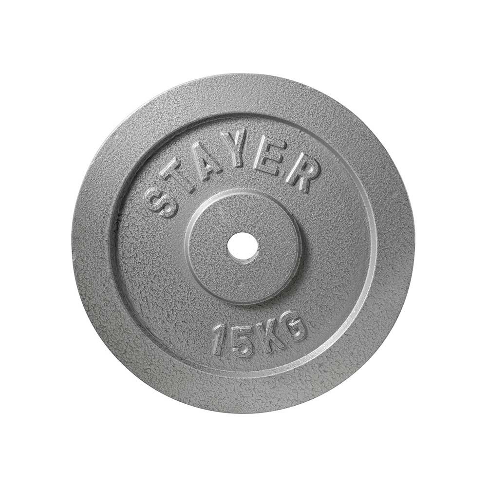 Δίκοι Γυμναστικής Άρσης βαρών 20Kg 0.28mm AMILA, Εμαγιέ Stayer 84510