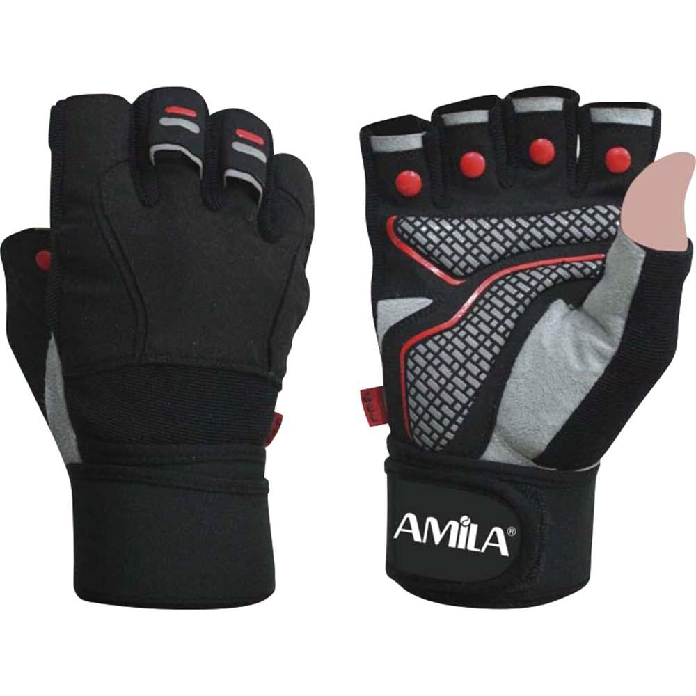 Ειδικά γάντια γυμναστικής Άρσης Βαρών AMILA 8322701