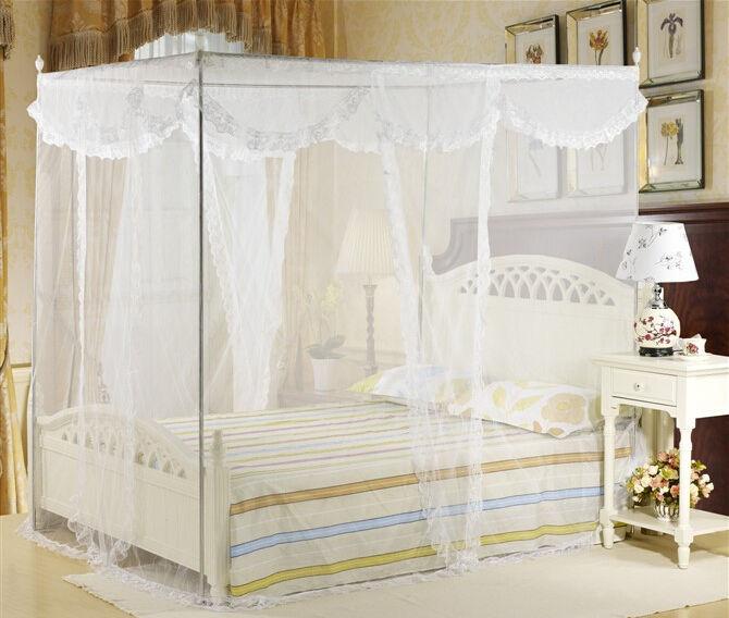 Κουνουπιέρα για κρεβάτι 220 X 200 cm με συναρμολογούμενο σκελετό αλουμινίου