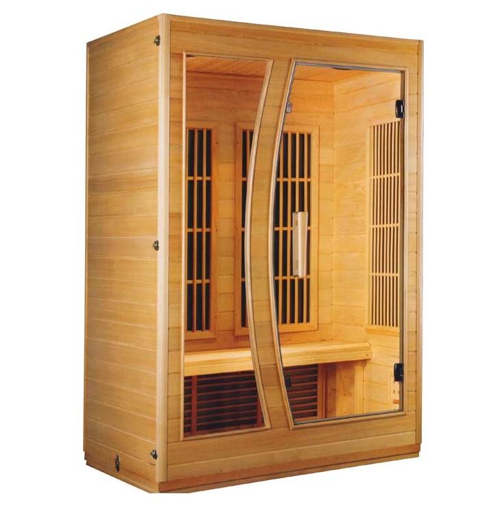 Ξύλινη Σάουνα δύο ατόμων με υπέρυθρες Sauna Spa FRB-771