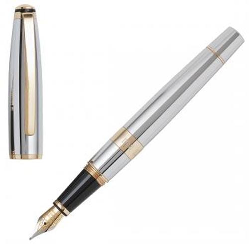 Πολυτελής μεταλλική πένα CERRUTI 1881 Fountain Pen Bicolore NS2952