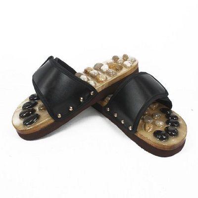 Σανδάλια Ρεφλεξολογίας με φυσικές πέτρες Foot Reflex LANAFORM