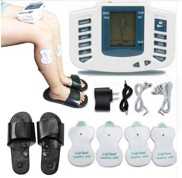 Συσκευή μασάζ αδυνατίσματος  & μυικής τόνωσης με ηλεκτροδιέργεση JR-309A