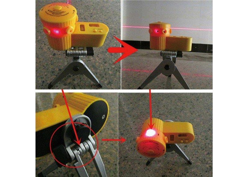 Αλφάδι λέιζερ με τρίποδο Laser Leveler 816