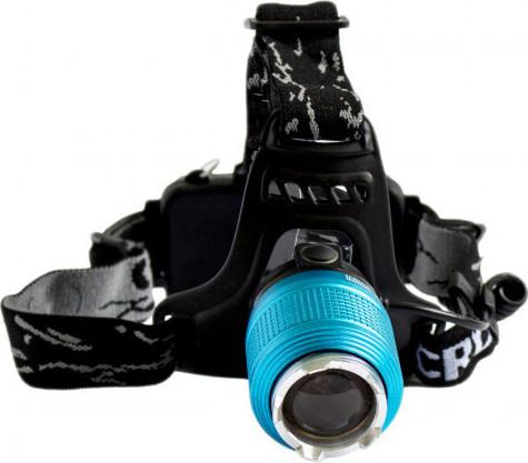 Φακός κεφαλής Led 2000 lumens & UV επαναφορτιζόμενος Cree BL-2199-2