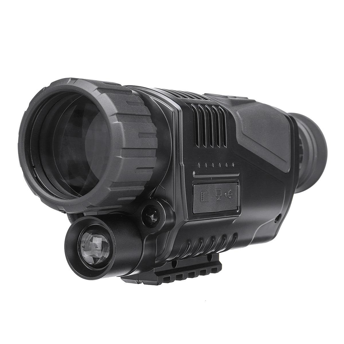 Ψηφιακό Μονόκυαλο Νυχτερινής Όρασης 5x40 με Υπέρυθρες 200m & Καταγραφή Βίντεο Night Vision Digital Monocular SX40