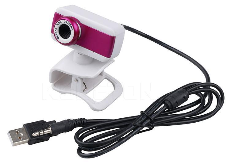 Webcam USB Digital Camera pc με μικρόφωνο 20 Mega Pixels VideoCam Logitaxd D170