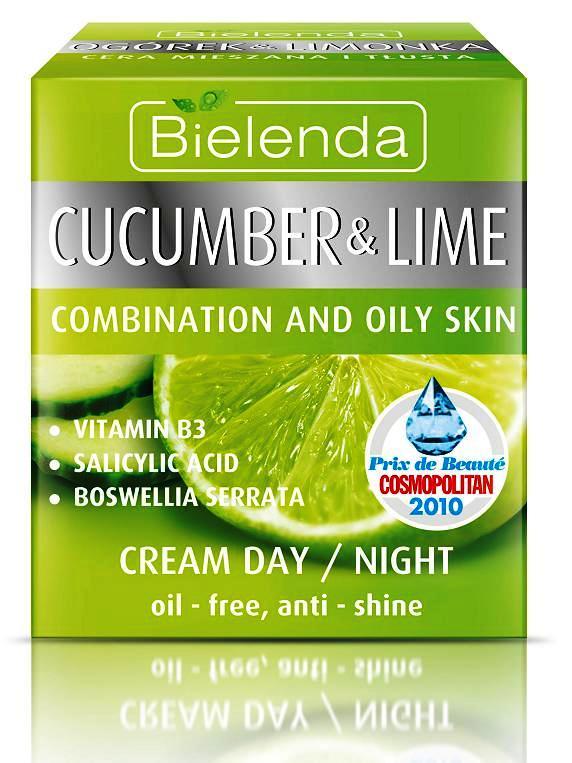 24ωρη κρέμα προσώπου εκχύλισμα Αγγουριού & Lime 50 ml BIELENDA