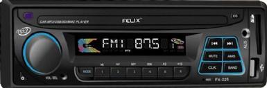 Ραδιόφωνο αυτοκινήτου MP3/USB/SD/MMC FELIX  FX-225