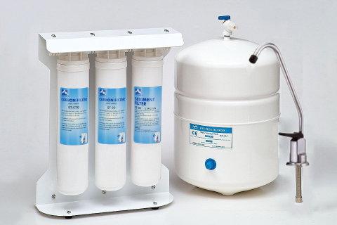 Σύστημα καθαρισμού νερού 5 σταδίων με Αντίστροφη Όσμωση LSRO-EQ5