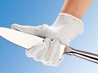 Γερμανικό Ζευγάρι γάντια για προστασία από κοψίματα.