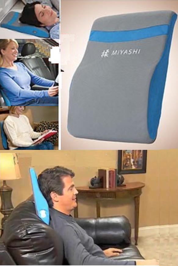 Σύστημα Μασάζ Δύο Ταχυτήτων Μαξιλάρι MIYASHI Pillow 611-J