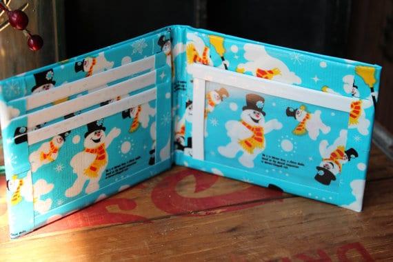 Duck Tape Frosty Snowmen
