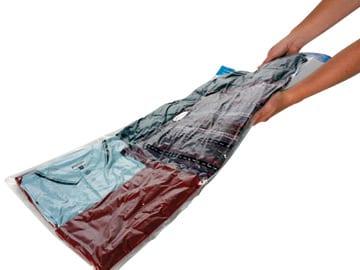 Σακούλες Αποθήκευσης Ρούχων Vac Bag  (60x80 cm )