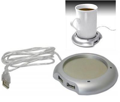 Για ζεστό καφέ USB 4port HUB & CUP WARMER GOWIRELESS
