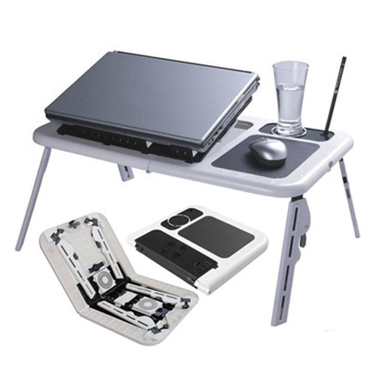 Τραπεζι Laptop Φορητό, Aναδιπλούμενο με 2 Ανεμιστηράκια ITEM LD0